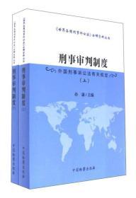 刑事审判制度 外国刑事诉讼法有关规定(套装上下册)