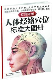 人体经络穴位标准大图册-超清晰版 吴中朝 中国轻工业出版社 2014年08月01日 9787501997886
