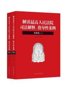 刑事卷-解读最高人民法院司法解释.指导性案例-(上下册)