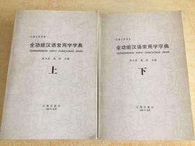 全功能汉语常用字字典 上下册