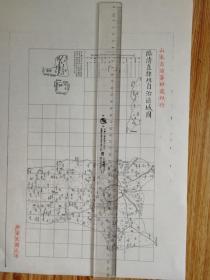临清直隶州自治区域图【该地最早的按比例尺绘制的地图】