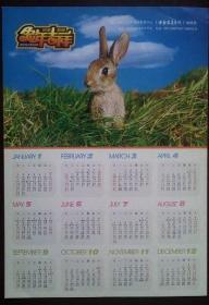 2011年历纸(兔图)