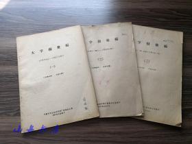 1957-58年 中国青年出版社印刷厂整风办公室编印《大字报汇编》(一、二、三)收藏那段沉重历史  全网唯一一套!S011