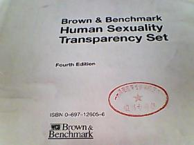 Brown & Benchmark Human Sexuality  Transparency Set(布朗基准人类性学透明集)