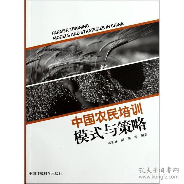 中国农民培训模式与策略