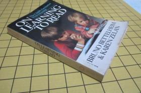 ON LEARNING TO READ 【英文版,边角有损】