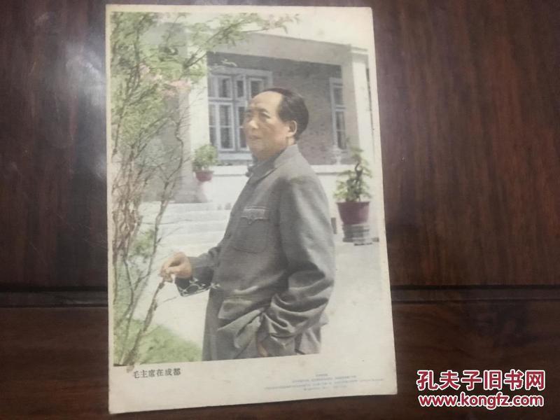 五十年代毛主席再成都  画片
