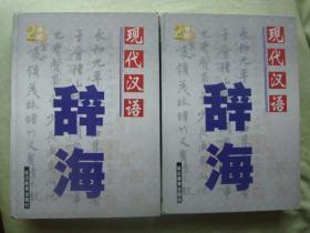 现代汉语辞海  中下册