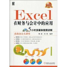 高效办公大讲堂:Excel在财务与会计中的应用 ...