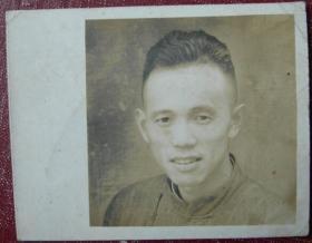 民国老照片:民国男子【民国——上海纺织之家系列】