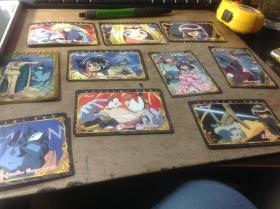 SLAYERS TRY秀逗魔导士 神坂一著作官方正版卡片  20张