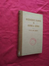 Intermediate Readings in Chemical and Technical German
