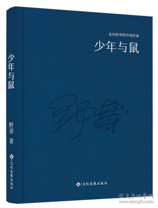 走向世界的中国作家系列丛书:少年与鼠(精装)