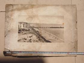 大尺寸清末民国英国老照片 威海卫英国殖民地英国人遗留老照片 红色收藏