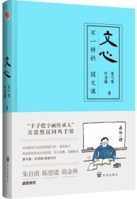 国文教育殿堂级著作:文心·不一样的国文课  (精装彩绘版)