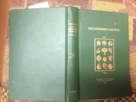 The Gardeners Kalendar: The Works of Each Month in the English Garden 1777年英国花园园丁月历,精装绝美插图本,九五品