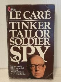 约翰·勒卡雷:小鼓手 John Le Carré  :Tinker Tailor Soldier Spy  ( Pan 1975年版) (英) 英文原版书