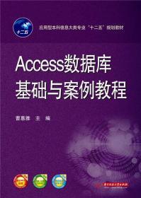 Access数据库基础与案例教程