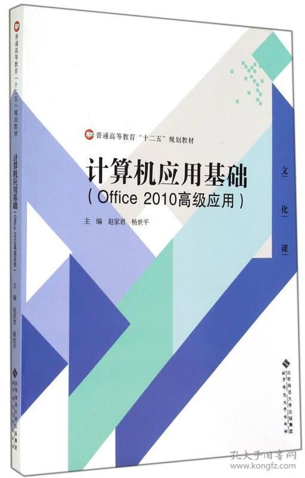 计算机应用基础(Office 2010高级应用)