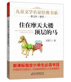 曹文轩推荐儿童文学经典书系 住在摩天大楼顶层的马