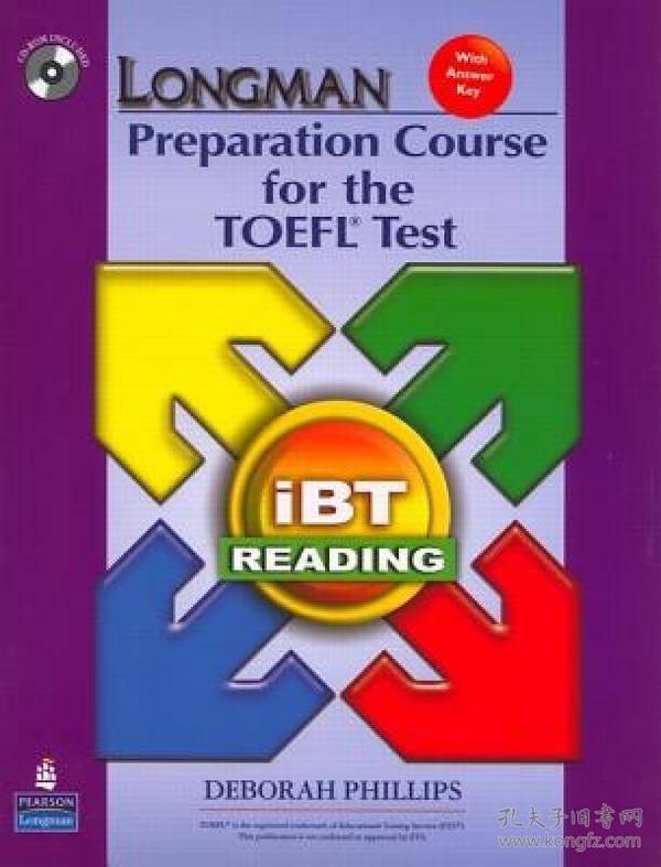 IBT READING(朗文托福阅读备考  英文版)