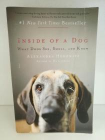 Alexandra Horowitz:Inside of a Dog: What Dogs See, Smell, and Know (宠物) 英文原版书
