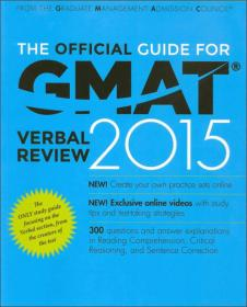 THE OFFICIAL GMAT VERBAL REVIEW 2015