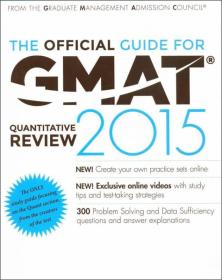 THE OFFICIAL GMAT QUANTITATIVE REVIEW 2015