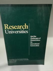 研究型大学与全球化挑战 Research Universities and the Challenges of Globalization : An International Convocation ( 教育 ) 英文原版书