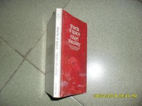 Shards of Space空间的残片(8品36开封底有损1971年英文原版152页罗伯特·谢克里科幻短篇小说集)42459