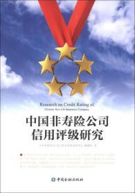 中国非寿险公司信用评级研究