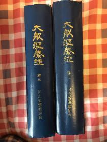 大般涅槃经 (卷二卷三)影印版