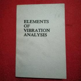 ELEMENTS  OF  VIBRATION   ANALYSIS    (VIBRATION 要素分析)