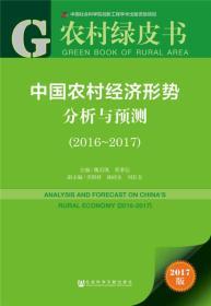 中国农村经济形势分析与预测(2016~2017)