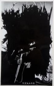 《祖母》上世纪90年代初艺术摄影原版胶片老照片詹小明摄