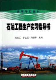 正版库存 石油工程生产实习指导书