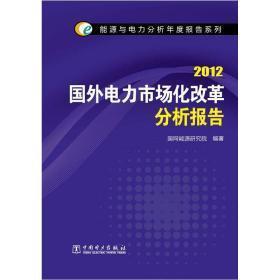 2012国外电力市场化改革分析报告