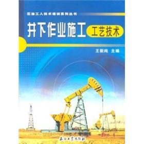井下作业施工工艺技术--石油工人技术培训系列丛书