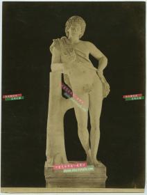 清代意大利古罗马艺术品雕像大幅蛋白照片