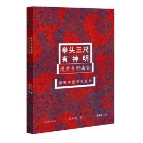 田野中国系列丛书--《举头三尺有神明---漫步乡野庙会 》