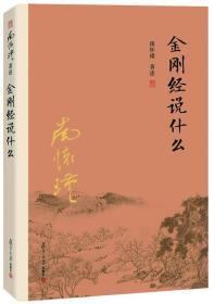 金刚经说什么 南怀瑾 大陆完备经典的南师作品集 中国哲学的金刚经书籍 哲学书籍畅销书排行榜