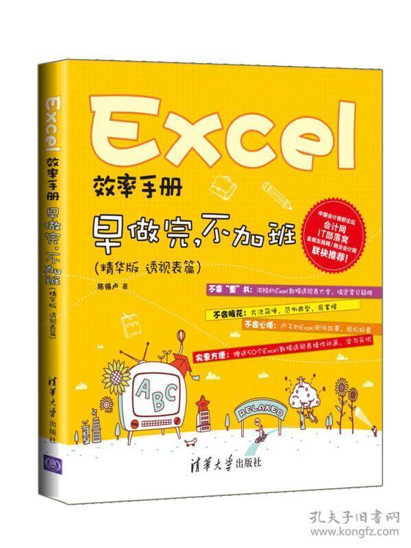 Excel效率手册  早做完,不加班 精华版 透视表篇