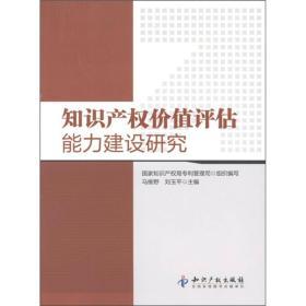 知识产权价值评估能力建设研究