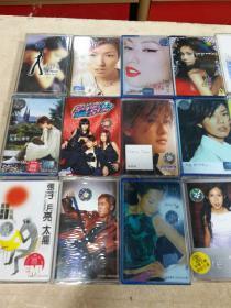 老磁带---周杰伦、张宇、王菲、谢霆锋、黎明 等(316盒)合售!见图片!
