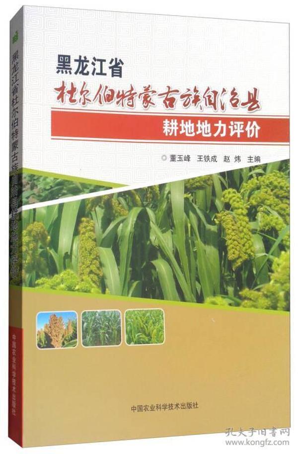 黑龙江省杜尔伯特蒙古族自治县耕地地力评价