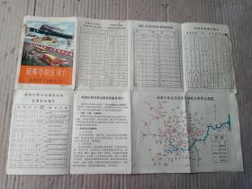 1971年《成都市联运简介》八开----附成都市区交通简图!!!