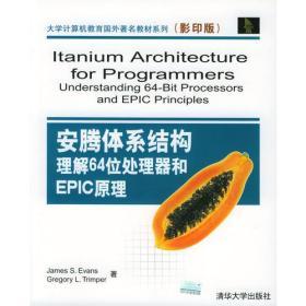 安腾体系结构:理解64位处理器和EPIC原理(影印版)