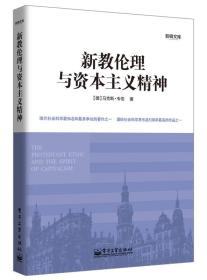 电子工业出版社 新教伦理与资本主义精神 马克斯韦伯 沈海霞 9787121201929