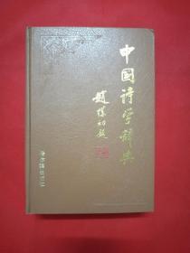 中国诗学辞典