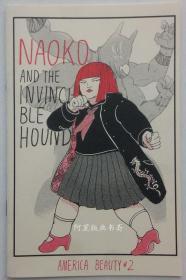 《Naoko and The Invincible Hound》奈绪子与无敌狗独立漫画出版物女插画师Lisha Jiang作